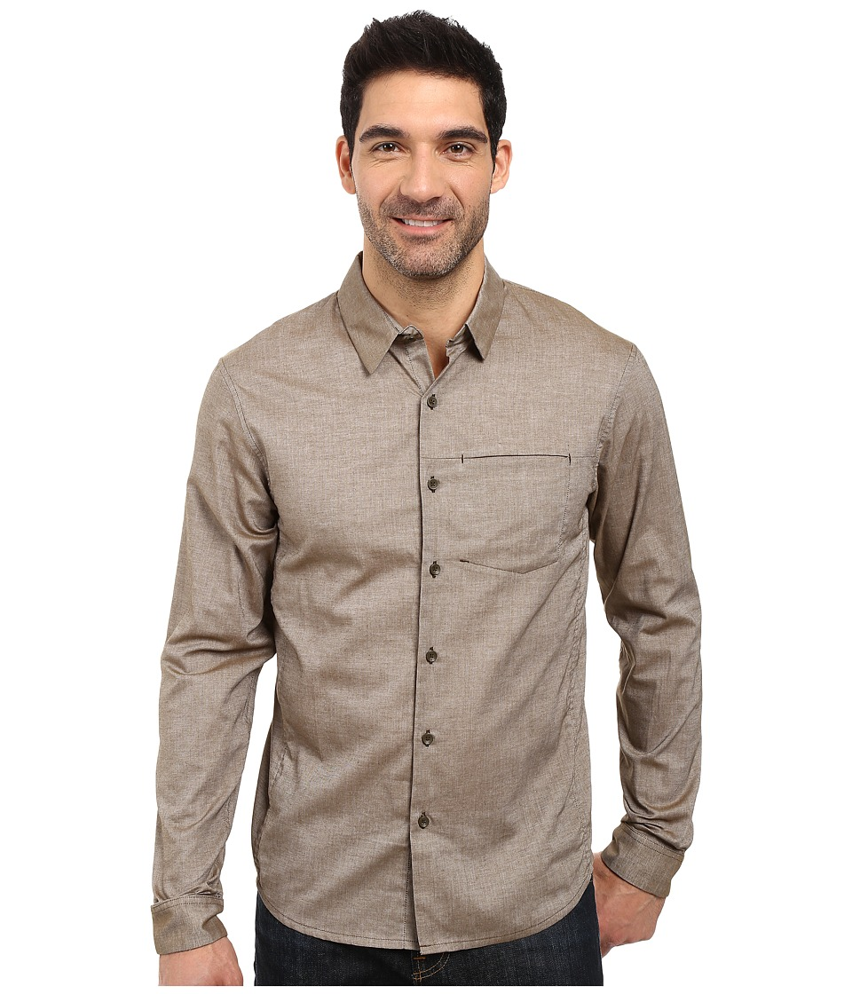 Arc'teryx - Astute L/S Shirt (Dark Moss) Men's Long Sleeve Button Up