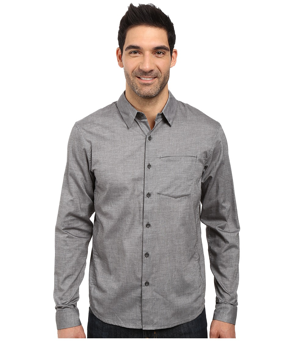 Arc'teryx - Astute L/S Shirt (Magnet) Men's Long Sleeve Button Up