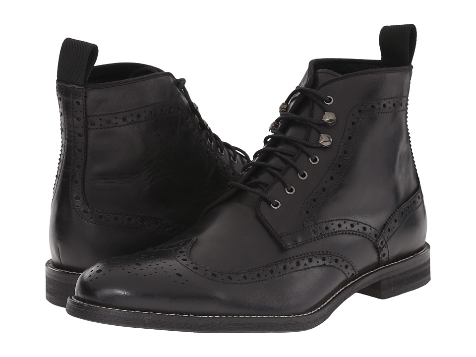 Gordon Rush - Ferguson (Black) Men's Lace-up Boots