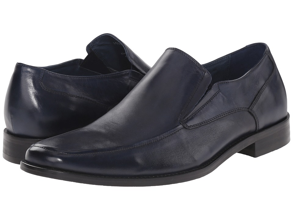 RUSH by Gordon Rush - Davis (Blue) Men's Slip on Shoes