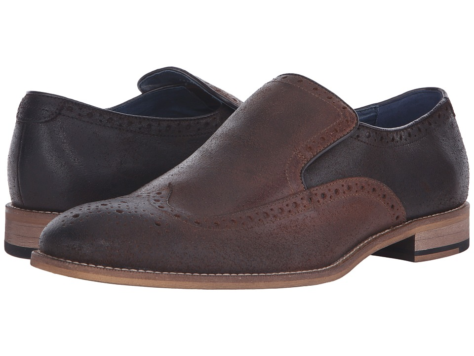 RUSH by Gordon Rush - Wilkinson (Brown) Men's Slip on Shoes