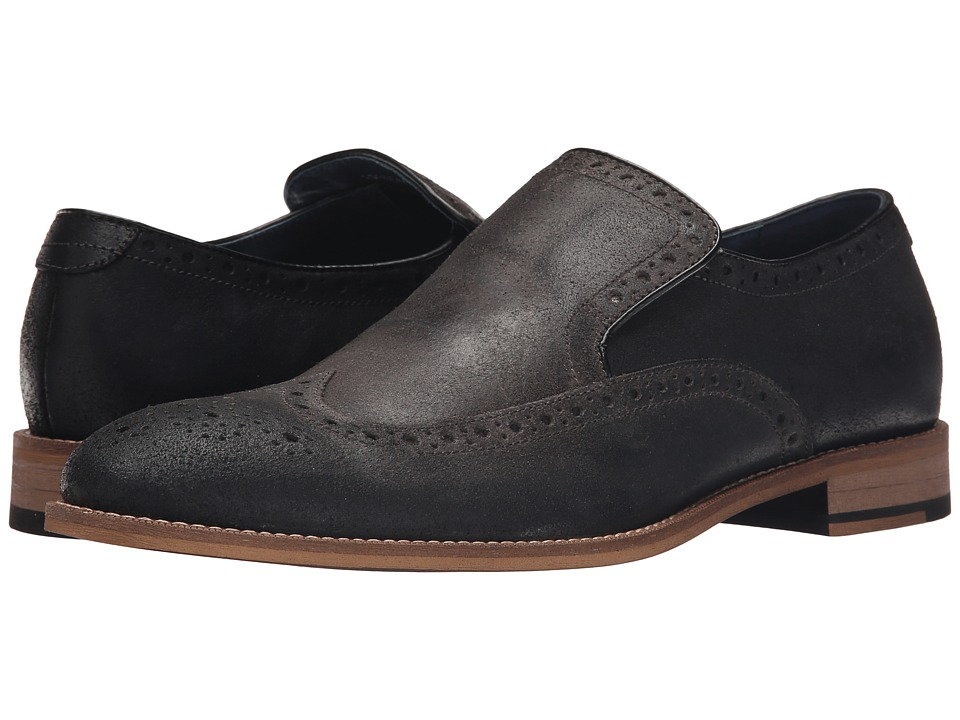 Gordon Rush - Wilkinson (Charcoal) Men's Slip on Shoes