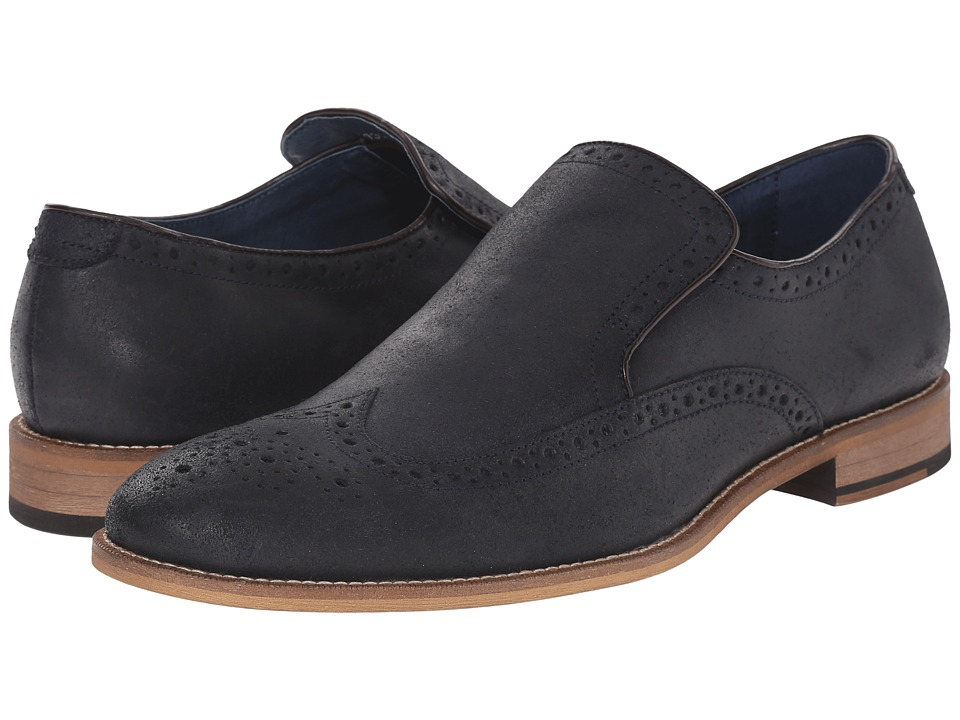 Gordon Rush - Wilkinson (Navy) Men's Slip on Shoes
