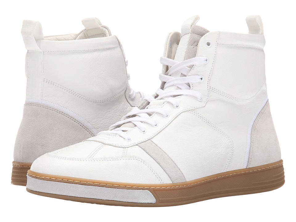 rag & bone - Flynn High (White) Men's Shoes