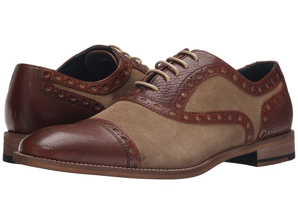 Gordon Rush - Logan (Sand/Brown) Men's Lace up casual Shoes