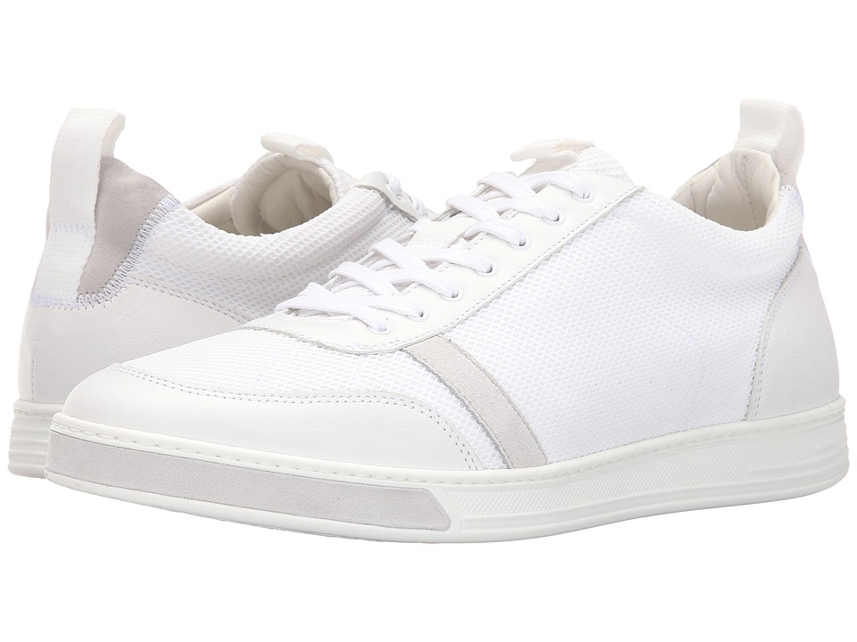rag & bone - Flynn Low (White/Grey) Men's Shoes