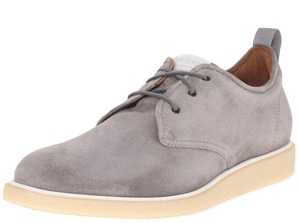 rag & bone - Elliot Oxford (Grey) Men's Lace up casual Shoes