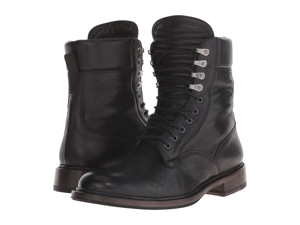 rag & bone - Spencer Military (Black) Men's Shoes