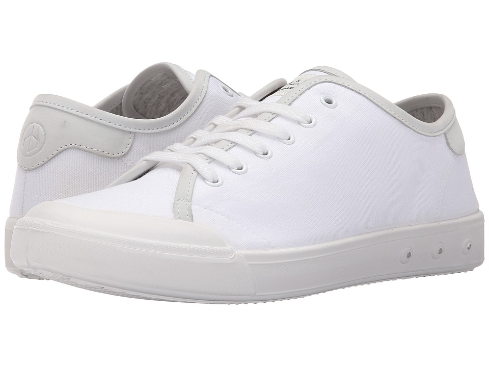 rag & bone - Standard Issue Lace-Up (White) Men's Shoes