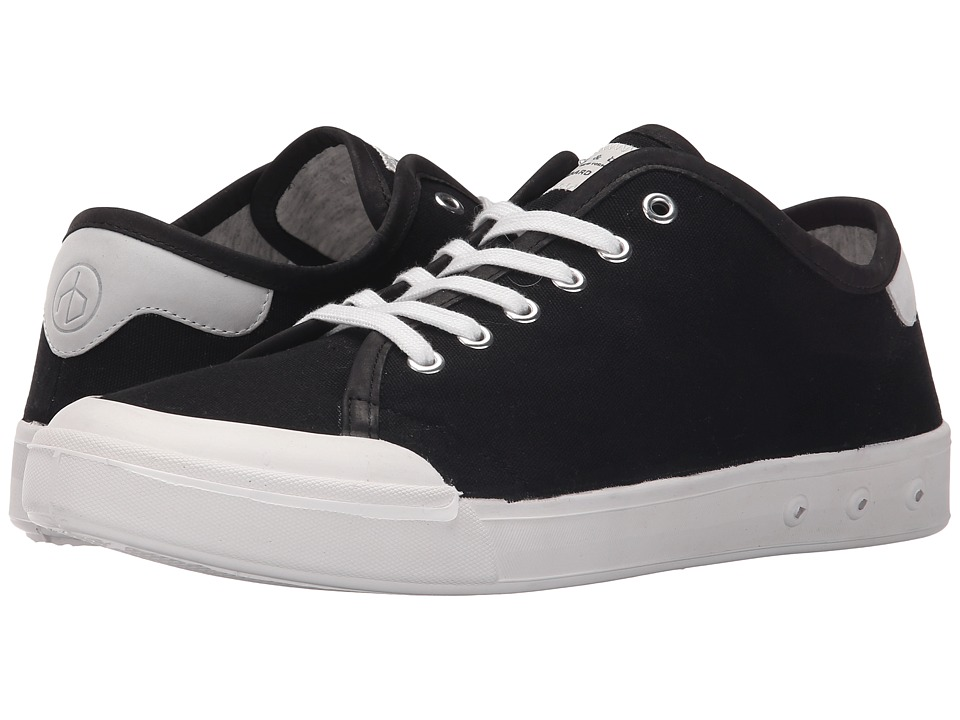 rag & bone - Standard Issue Lace-Up (Black/White) Men's Shoes