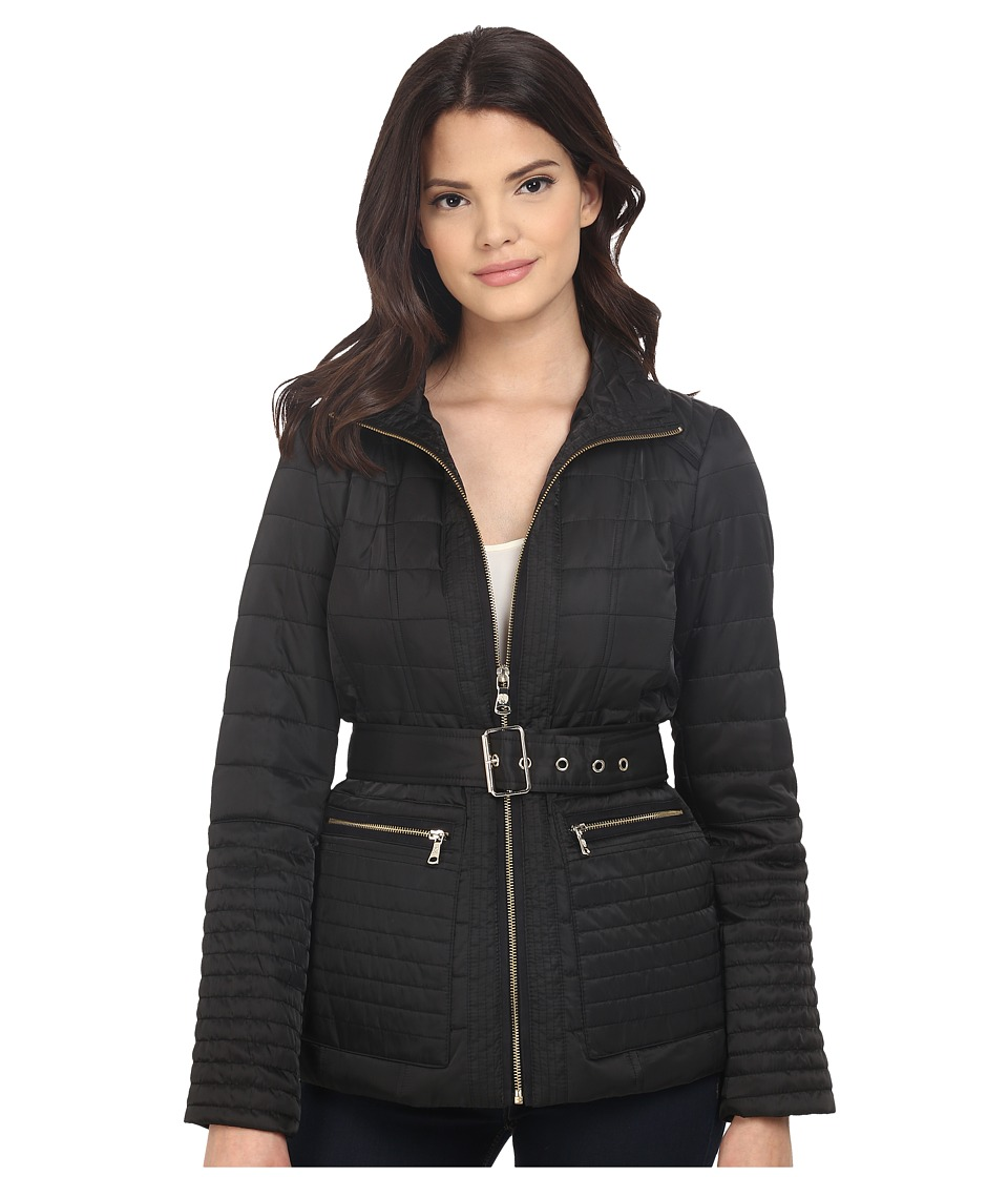 Vince Camuto - Quilted K8201 (Black) Women's Coat