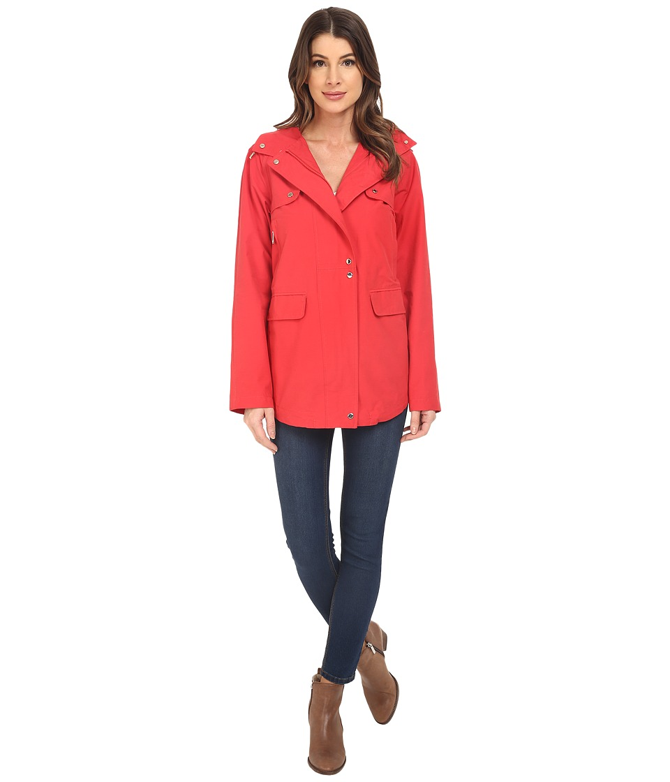 Vince Camuto - Cotton Blend Parka K8441 (Apple Red) Women's Coat