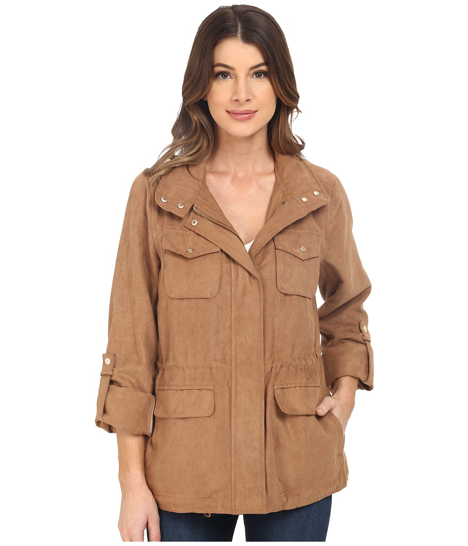 Vince Camuto - Faux Suede K8751 (Ginger) Women's Coat