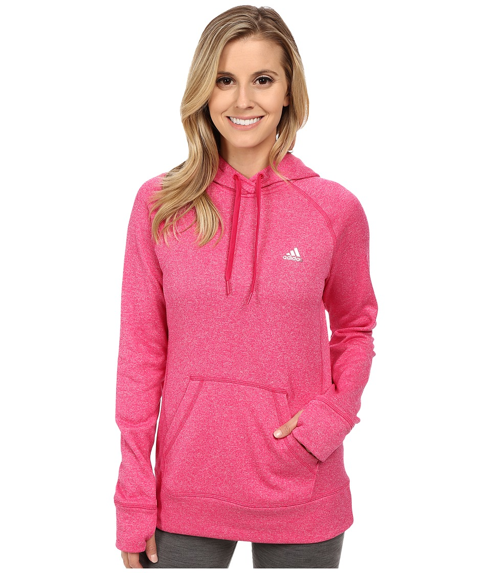adidas - Ultimate Pullover Hoodie (Bold Pink) Women