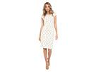Cowl Neck Printed Sheath Dress