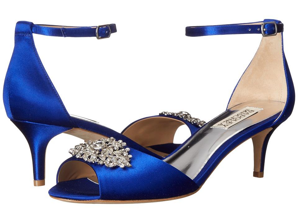 Badgley Mischka - Acute (Violet Satin) Women's 1-2 inch heel Shoes
