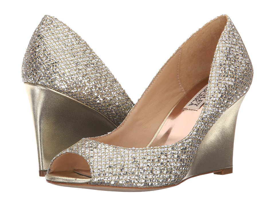 Badgley Mischka Awake (Platino Glitter) Women