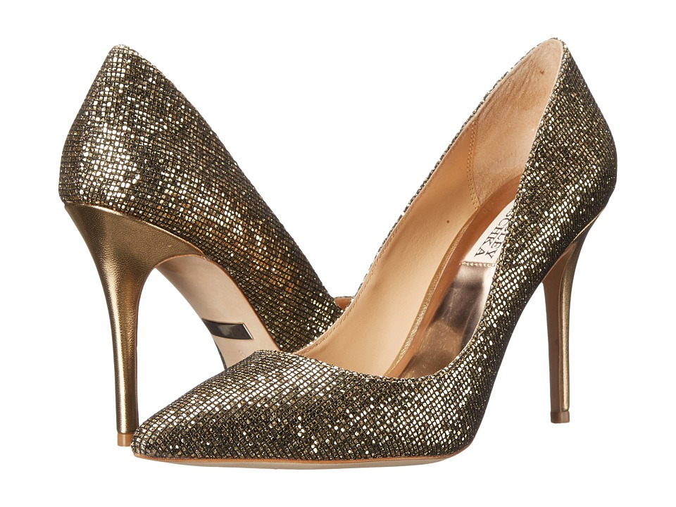 Badgley Mischka - Aware (Gold Glitter) High Heels