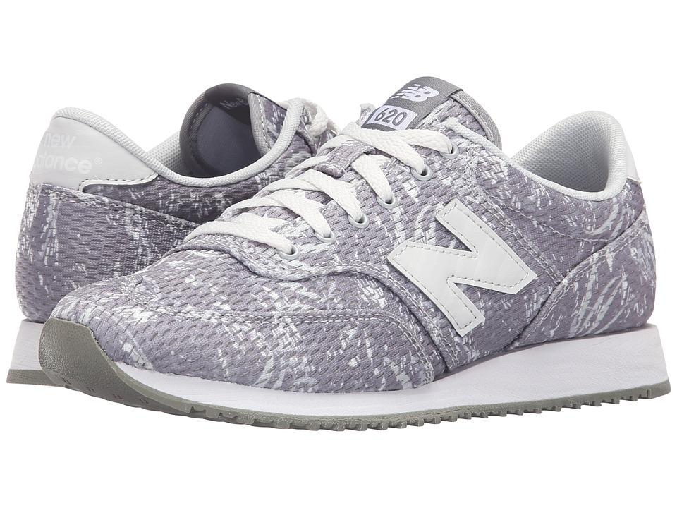 New Balance Classics - CW620 (Grey/Light Grey) Women's Classic Shoes