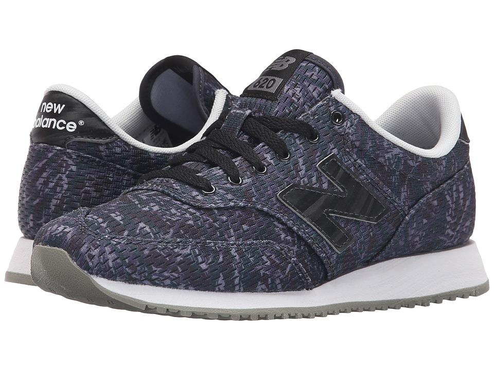 New Balance Classics - CW620 (Black/Grey) Women's Classic Shoes