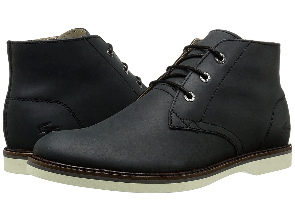 Lacoste - Sherbrooke Hi 116 1 (Black) Men's Shoes