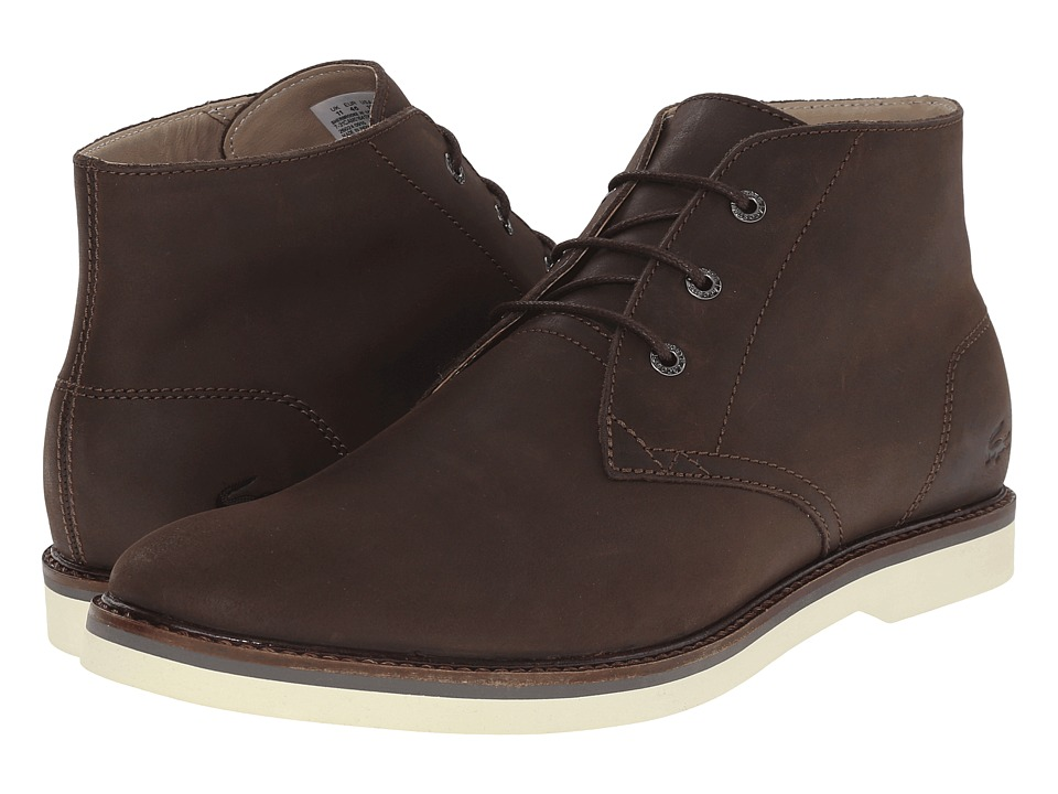 Lacoste - Sherbrooke Hi 116 1 (Dark Brown) Men's Shoes