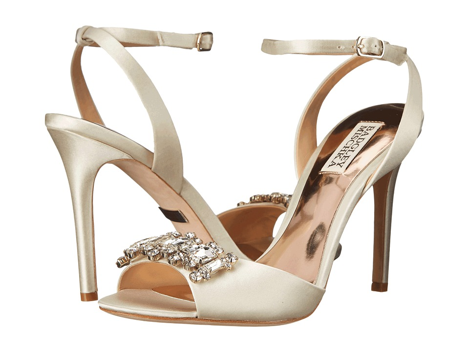 Badgley Mischka - Amanda (Ivory Satin) High Heels