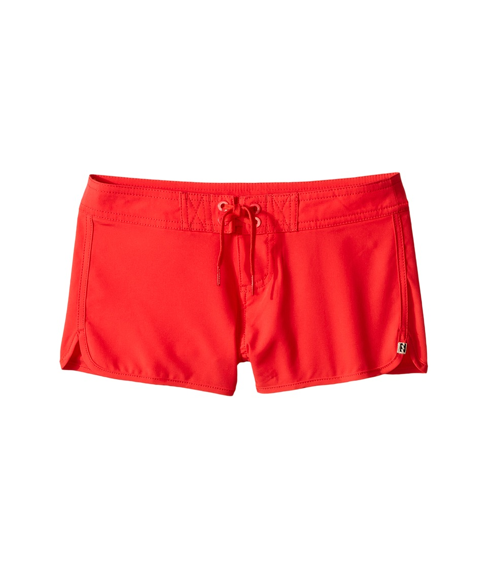 Billabong Kids - Sol Searcher 2 Fixed Boardshorts (Little Kids/Big Kids) (Red Hot) Girl's Swimwear