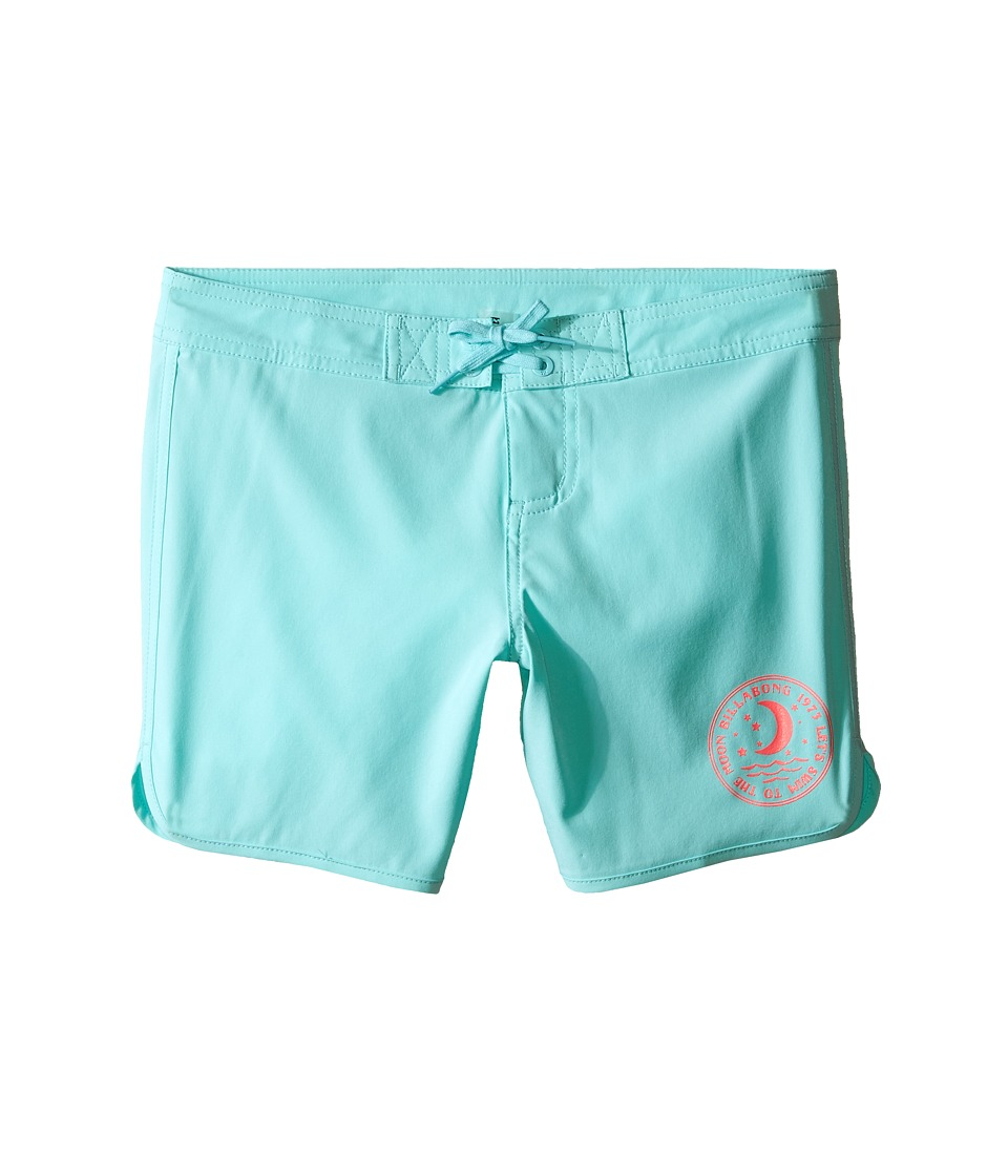 Billabong Kids - Sol Searcher 5 Fixed Boardshorts (Little Kids/Big Kids) (Surf Blue) Girl's Swimwear