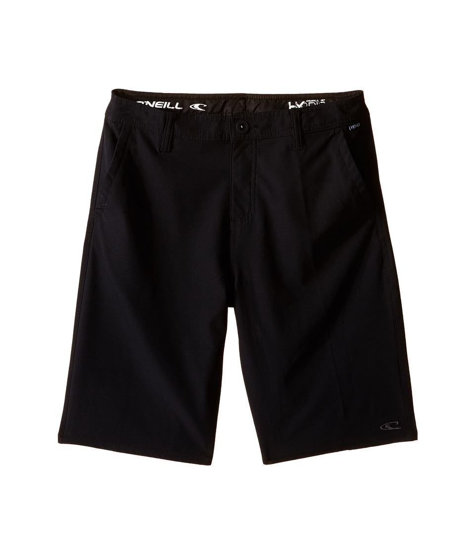 O'Neill Kids - Loaded Hybrid Boardshorts (Big Kids) (Black) Boy's Swimwear