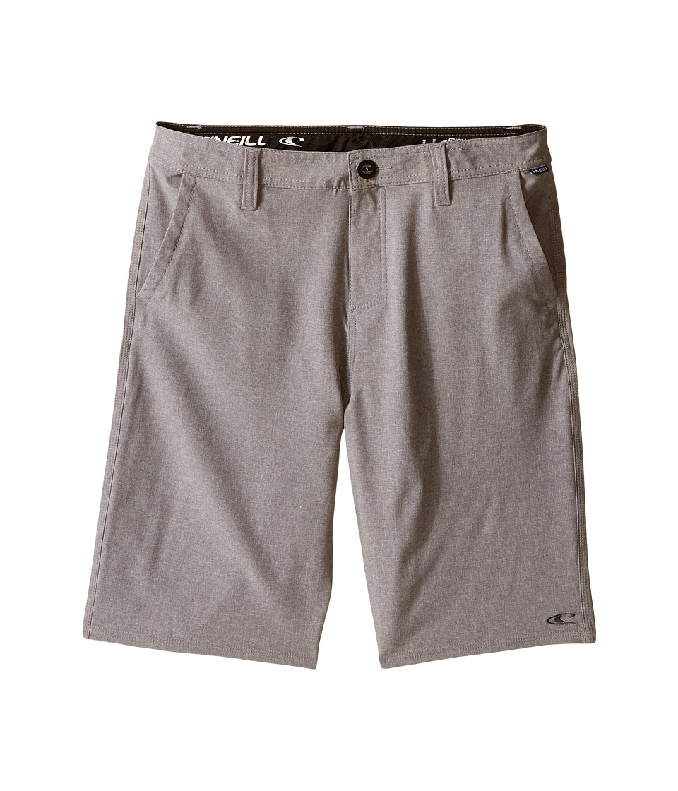 O'Neill Kids - Loaded Hybrid Boardshorts (Big Kids) (Grey) Boy's Swimwear