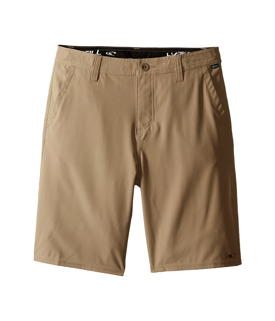 O'Neill Kids - Loaded Hybrid Boardshorts (Big Kids) (Khaki) Boy's Swimwear