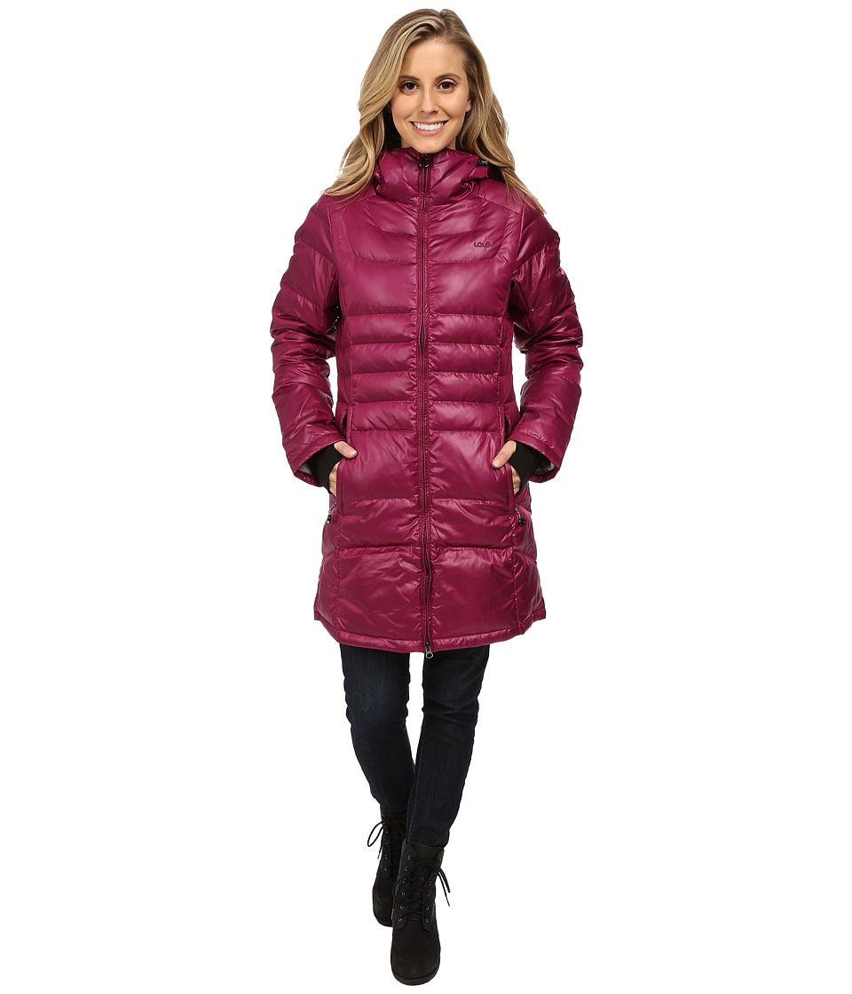 Lole - Louisiana Jacket (Mulberry) Women's Coat