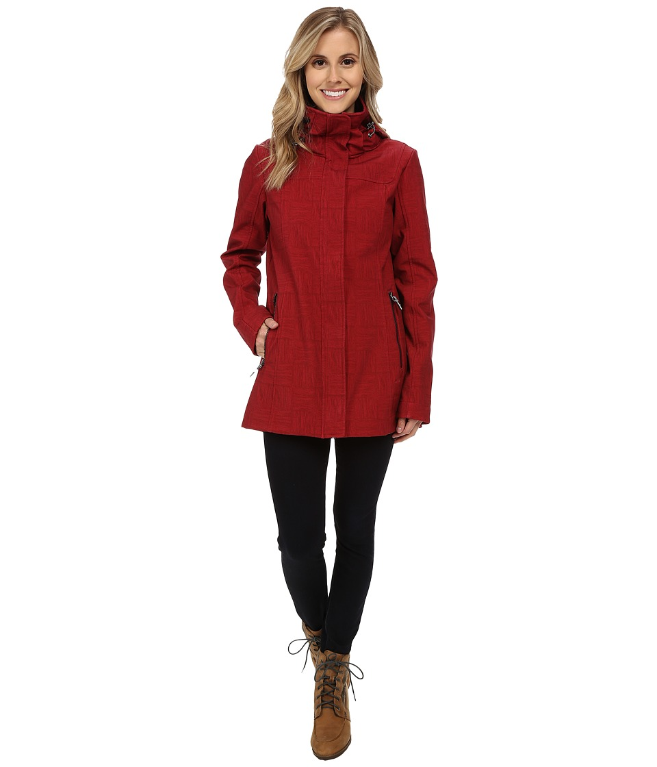 Lole - Stunning 2 Jacket (Cabernet Corn Field) Women's Coat