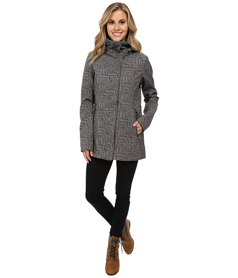 Lole - Stunning 2 Jacket (Dark Charcoal Corn Field) Women's Coat