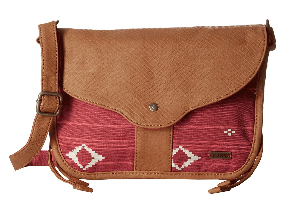 Roxy - Guitar Song (Noosa Geo Combo/Faded Rose) Cross Body Handbags