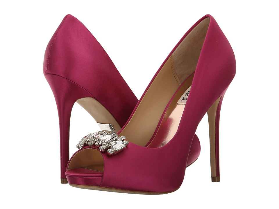Badgley Mischka - Alter (Orchid Satin) High Heels