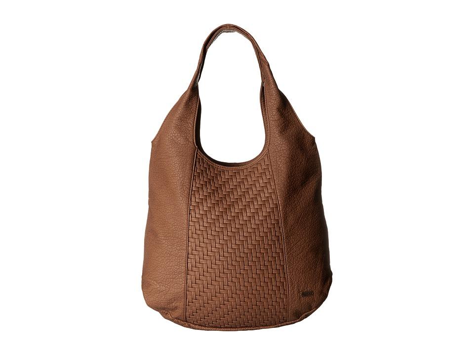 Roxy - Polynesia Shoulder Bag (Camel) Hobo Handbags