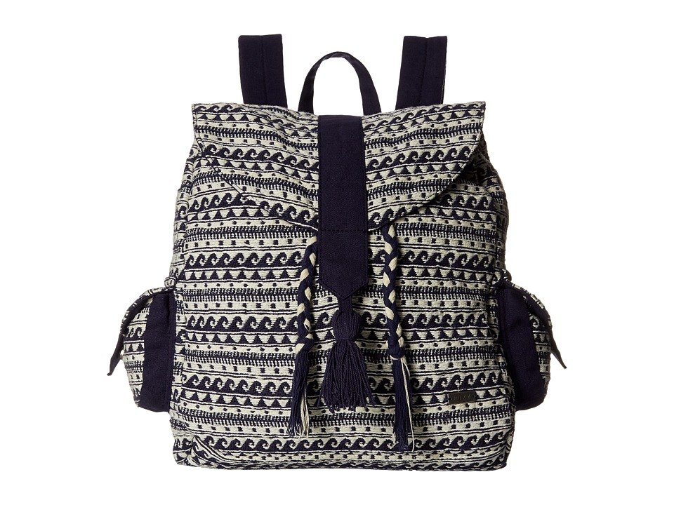 Roxy - Delhi Backpack (Wave Jacquard Combo/Sand Piper) Backpack Bags