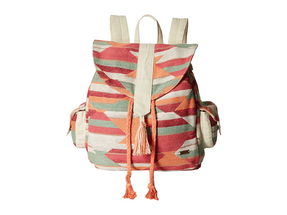 Roxy - Delhi Backpack (Ax Desert Point Geo Combo/Sand Piper) Backpack Bags