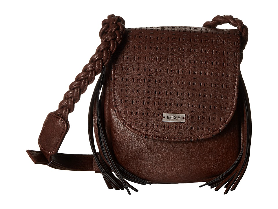 Roxy - The Confidence Crossbody (Deep Taupe) Cross Body Handbags