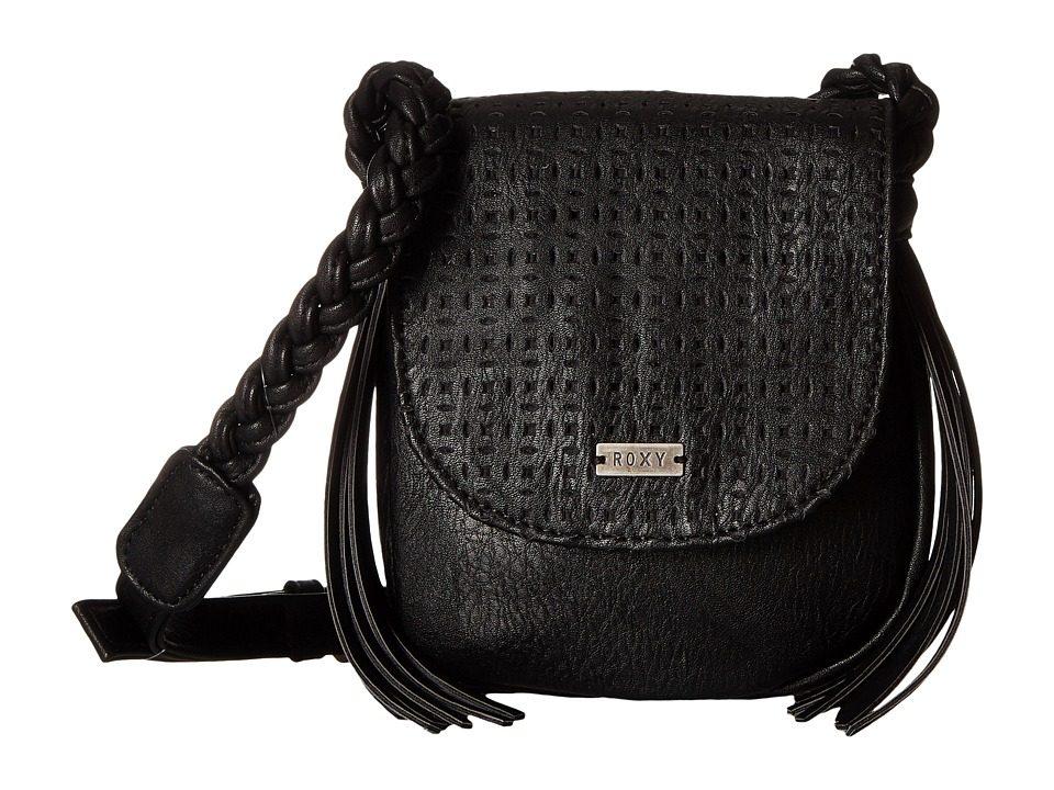 Roxy - The Confidence Crossbody (True Black) Cross Body Handbags