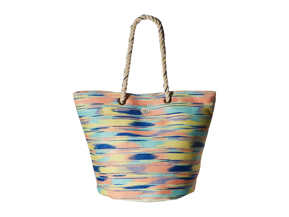 Roxy - Sun Seeker Tote Bag (Ikat Pattern New Combo Chambray) Tote Handbags