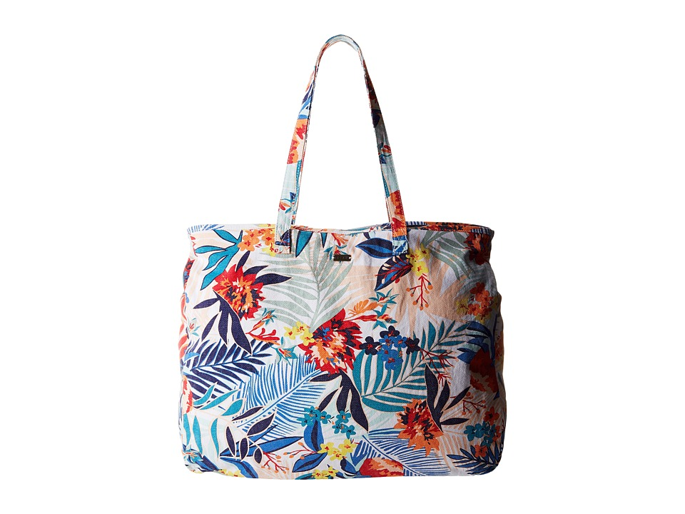 Roxy - It Favorite (Canary Islands Floral A/Combo Sand Piper) Tote Handbags