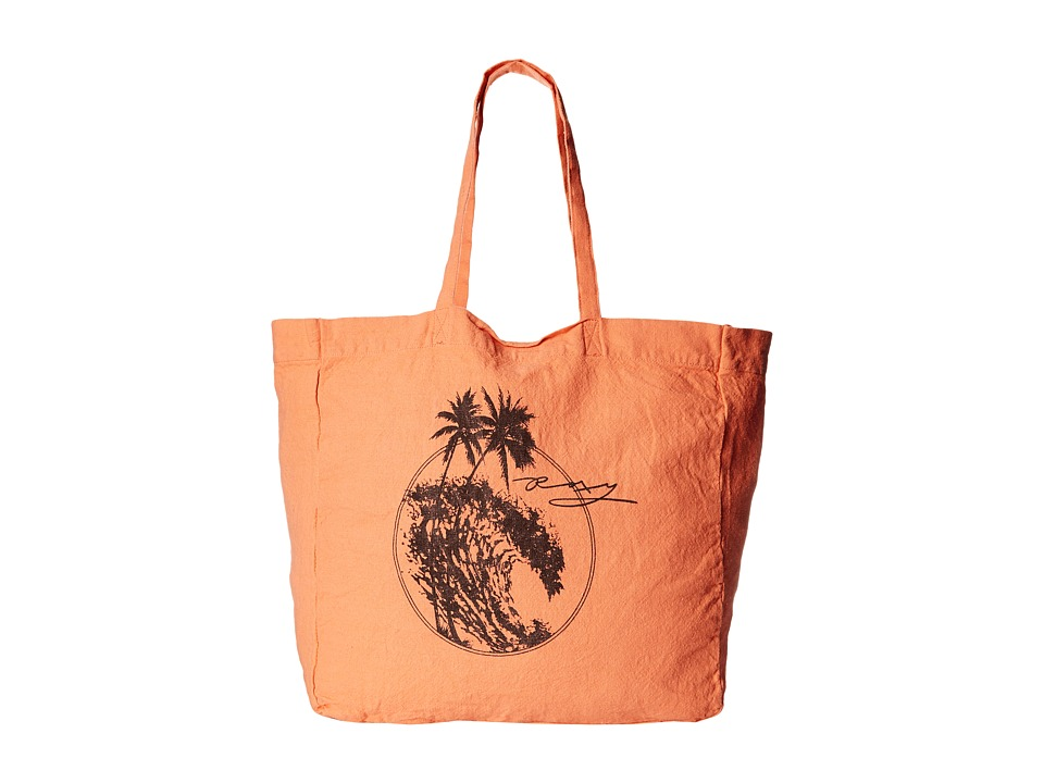 Roxy - Need It Now Beach Tote (Sunkissed Coral) Tote Handbags