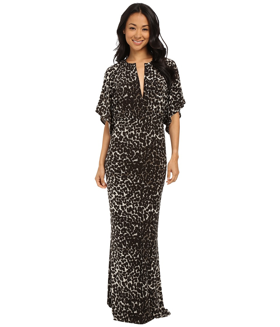 KAMALIKULTURE by Norma Kamali - Obie Gown (Cheetah) Women's Dress
