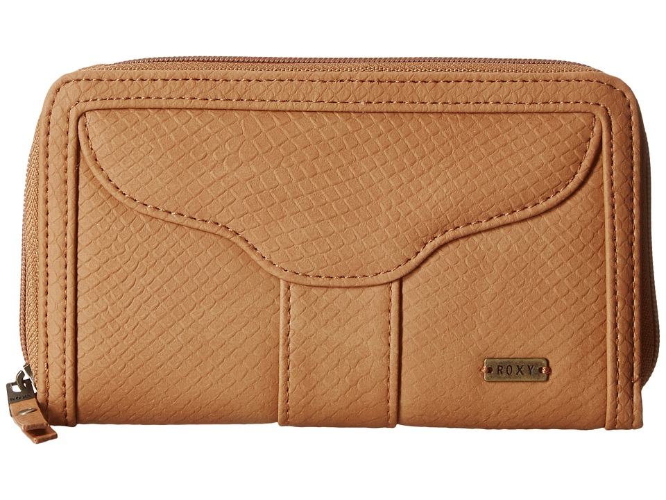 Roxy - Stolen Dance Solid Wallet (Camel) Wallet Handbags