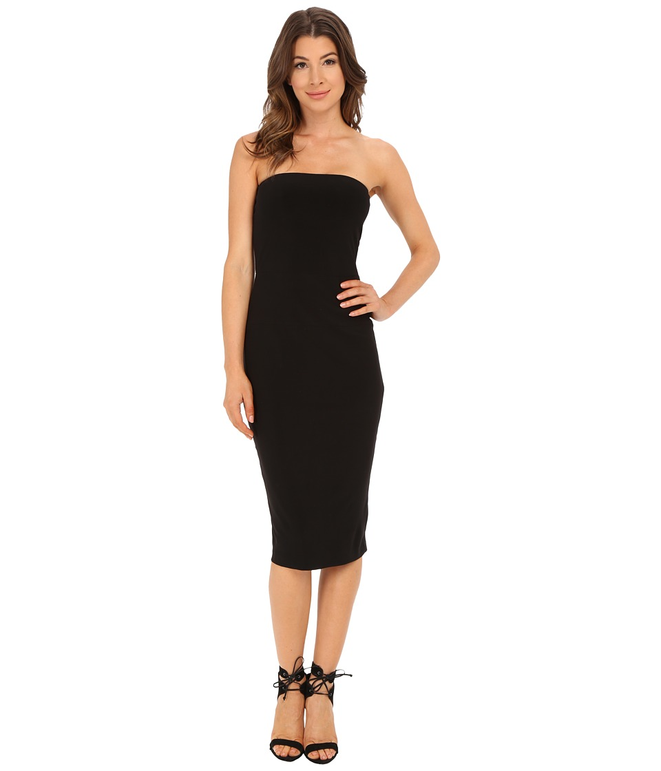 KAMALIKULTURE by Norma Kamali - Strapless Dress (Black) Women's Dress