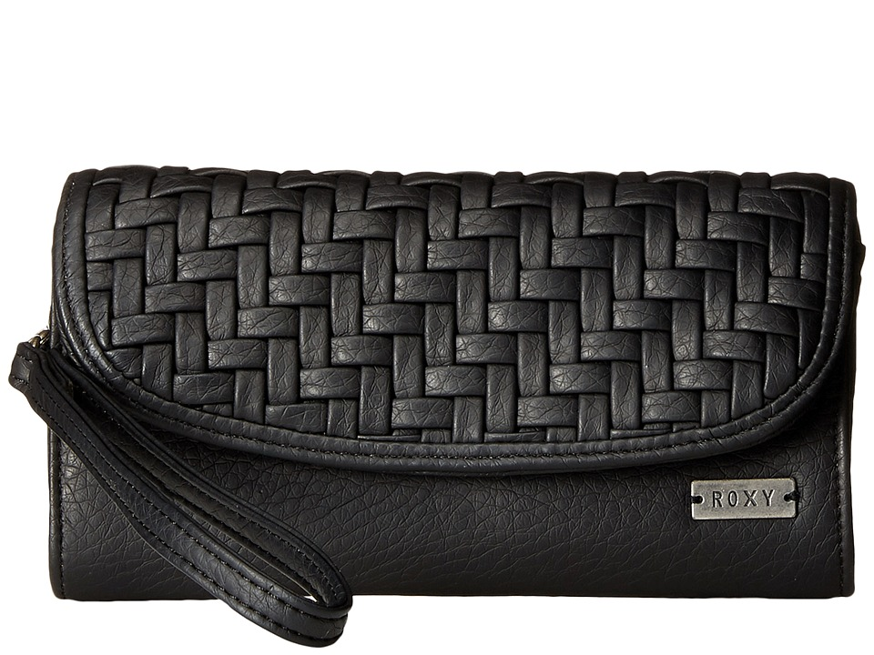 Roxy - Playa Blanca Wallet (True Black) Wallet Handbags