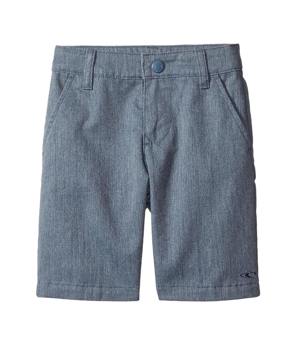 O'Neill Kids - Contact Shorts (Little Kids) (Blue Heather) Boy's Shorts